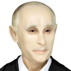 Political Pundit Putin Mask - 407858   trendyhalloween.com Vladimir Putin, Villain Mask, Purge Mask, Trendy Halloween, Unique Costumes, Skull Mask, Animal Masks, Masquerade Party, Halloween Masks