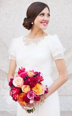 Hair and Make-up by Steph: Megan - Wedding