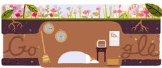 First Day of Spring 2017 | Google Doodle 03/20/2017