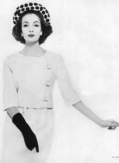 Gitta Schilling, photo by Karen Radkai, Vogue, May 1, 1959 | flickr skorver1