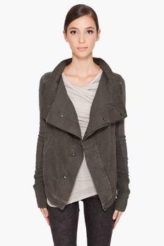 RICK OWENS DRKSHDW //    Exploder Combo Jacket #minimalist #fashion