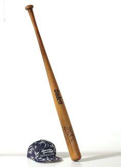Vintage Baseballschläger 105x7 cm (L/Ø)