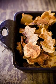 apple chips.. def a winter treat, as they may take 6 hours to bake. maybe with a chocolate or caramel dip?
