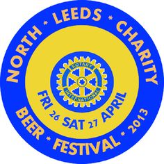 2nd Annual North Leeds Charity Beer Festival is St Aidan's Community Hall, Roundhay Road, Leeds, LS8 5QD. Friday 26 Saturday 27 April 2013