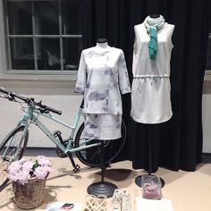 Sport de luxe -theme in Friendtex collection presentation.  Collection designer |Bettina Jonsson Outfits|Friendtex Finland team Styling|Annarina|Adalmiinan Helmi