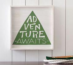 Adventure Awaits - play room  Art #pbkids