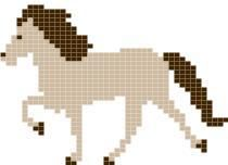 Killing Icelandic horse I& been looking for a knitting pattern with an Icelander in Tölt for a while, but I haven&# Beaded Cross Stitch, Crochet Cross, Cross Stitch Kits, Cross Stitch Embroidery, Cross Stitch Patterns, Knitting Charts, Baby Knitting, Knitting Patterns, Bead Loom Patterns