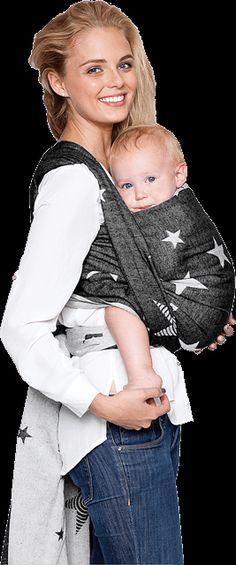 This wrap is gorgeous kokadi Diorite Stars - 100% cotton - kokadi - Babytragetücher