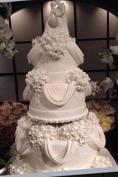 Bolo de casamento de Isabella Suplicy