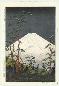 Mt.Fuji from Hakone by Koichi Okada (1907 - ? )
