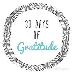Une chouette initiative pour ce mettre dans le flow de la gratitude :)