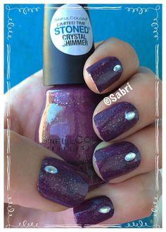 @sinfulcolors_official @sinfulcolorsprofessional: #manicure with #sinfulcolors #desertdivas #spring #limitededition #namastethenight, a textured #deepplum. #love! #simplicity #nailart. #Nails #Uñas #Unghie #Ongles #Unhas #Nailpolish #Esmalte #Smalto #Émail. #Beauty #Belleza #Bellezza #Beauté #Beleza #Cosmetics #Cosméticos #Cosmetici #produitsdebeaute #fabat40.