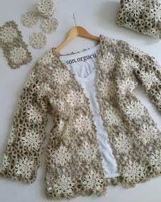 Outstanding Crochet: My current crochet pattern projects Crochet Coat, Crochet Jacket, Knitted Poncho, Crochet Cardigan, Crochet Shawl, Crochet Clothes, Crochet Bolero Pattern, Cardigans Crochet, Tutu Outfits