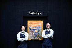 #nyuisva Munch & Sotheby's