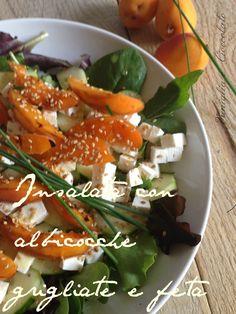 Una fresca insalata ideale da preparare in una calda giornata…