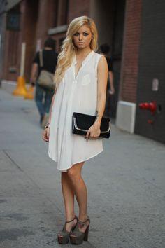 Lara Jade, oversized tunic dress shirt