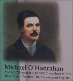 michael o'hanrahan Easter Rising, Names With Meaning, Revolutionaries, Ireland, Irish, Freedom, Serendipity, History, Patriots