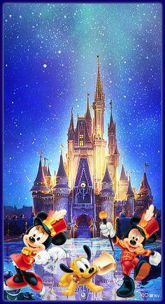 Mickey Mouse Wallpaper, Wallpaper Iphone Disney, Cute Disney Wallpaper, Mickey Mouse Pictures, Disney Pictures, Baby Disney, Disney Art, Disney Magical World, Disney Addict