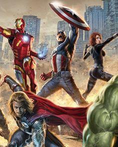 The Avengers Marvel Iron Man Thor Hulk Art Print Photo Glossy Poster Avengers 2012, Marvel Avengers, Marvel Comics, Films Marvel, Marvel Movie Posters, Avengers Poster, Comic Poster, Avengers Memes, Avengers Team