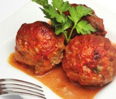 Try out these meatballs for an appetizer, meal, or even make some extra to save for a quick snack!