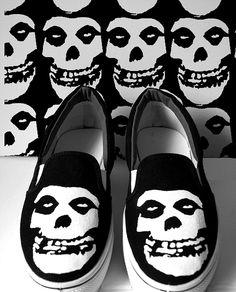 Misfits sneakers.