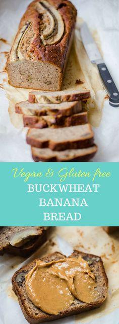 Insanely delicious buckwheat banana bread, V+ GF | Vibrant Food Stories