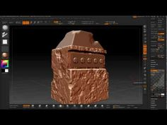 3Ds Max to ZBrush Retopology and normal map pipeline (Arabic) - YouTube