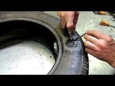 Como fazer vulcanização de pneu streetrodas .Dicas para quem quer aprender a fazer vulcanização - YouTube