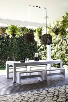 The great outdoors: Which areas of the home do buyers care about most? Outdoor Spaces, Outdoor Living, Outdoor Decor, Outdoor Ideas, Byron Bay Beach, Palm Beach, Outside Patio, Coastal Living Rooms, Magnolia Homes