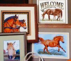 Horses Cross Stitch Pattern New Free Shipping     http://www.bonanza.com/listings/Horses-Cross-Stitch-Pattern-