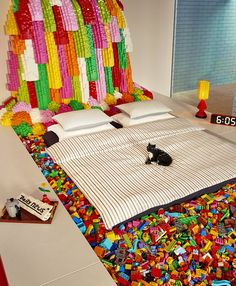 Enter for a chance to win a #NightAt the brand new LEGO House, where your family's imagination can run wild in the home of creativity. #LEGOHouse