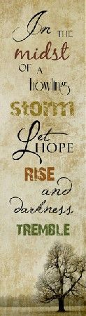 'Let Hope Rise' - This can be purchased through 'Summer Snow Art' at the link below.