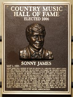 Sonny James - Inducted in 2006