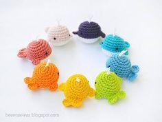 Mesmerizing Crochet an Amigurumi Rabbit Ideas. Lovely Crochet an Amigurumi Rabbit Ideas. Crochet Diy, Crochet Bow Pattern, Crochet Bows, Crochet Patterns Amigurumi, Crochet Crafts, Yarn Crafts, Crochet Projects, Crochet Whale, Rainbow Crochet