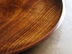 Round Horse Chestnut Tray
