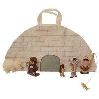 Un sac-tapis de jeux en forme d'igloo - Marie Claire Idées