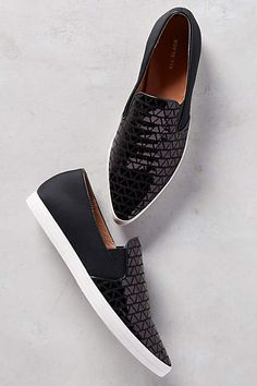 All Black Scales Sneakers - anthropologie.com
