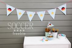 free soccer printable world cup 2014   by http://titatoni.blogspot.de/