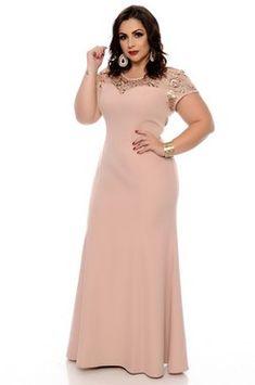 Vestido Linho Plus Size Zorah Crochet Cord, Latest African Fashion Dresses, Prom Dresses, Formal Dresses, Camilla, Plus Size Fashion, Short Sleeve Dresses, Clothes, Outfits