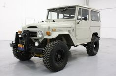 '73 toyota land cruiser I have ALWAYS wanted one of these! First vehicle I went off-roading in.