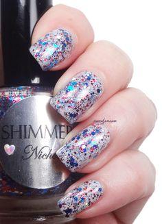 xoxo, Jen: Shimmer Polish Nichole | See more at http://www.nailsss.com/colorful-nail-designs/2/