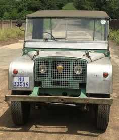 Land Rover 86 Serie One soft top canvas. Land Rover Serie 1, Land Rover Defender, Off Road, Land Rovers, Range Rover, Evo, Mobiles, Motors, Cool Cars