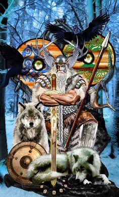 Odin King of Swords TAROT APOKALYPSIS by Elric2012 on deviantART
