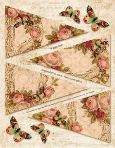 Rosy-bunting-2013-Paperwhimsy- CLICK-VIEW- SAVE AS!:
