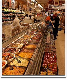and one of my favorite shopping spots? zabar's gourmet shop in NYC ... it's great to pamper one's self!!