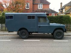 1966 Series 2A Land Rover Ambulance called Agnes