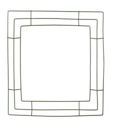 Panacea Products-14'' Square Wreath Frame