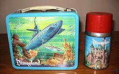 disney land        vintage  lunch box