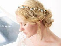 Haarkranz Perlen Perlenkranz Haarschmuck Tiara