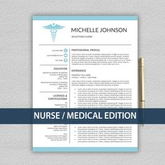 nurse resume template for word doctor resume by prographicdesign. Resume Example. Resume CV Cover Letter